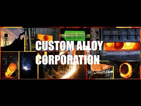 Custom Alloy Company - Oil and Gas Pipeline, Heat Treating