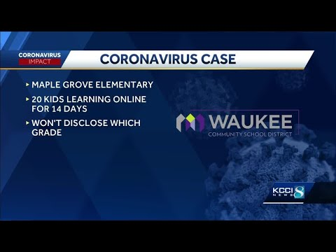 Waukee elementary school moves class online after COVID-19 case