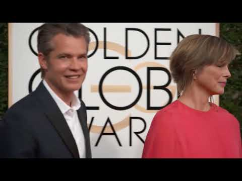 Timothy Olyphant and Alexis Knief Fashion  Golden Globes 2017