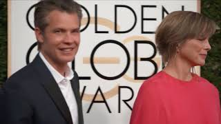 Timothy Olyphant And Alexis Knief Fashion - Golden Globes 2017