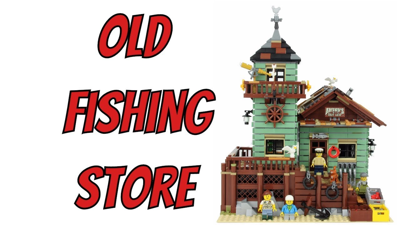 LEGO Ideas Old Fishing Store - Unboxing, Speed Build & Review 21310