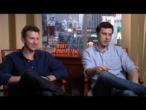 Jonathan Goldstein & John Francis Daley - The Incredible Burt Wonderstone Interview HD