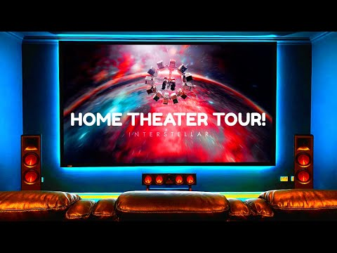"""connor's-home-theater-tour-2020!-klipsch-4k-dolby-atmos-7.2.4-""""massive-bass!""""-(folded-tapped-horn!)"""