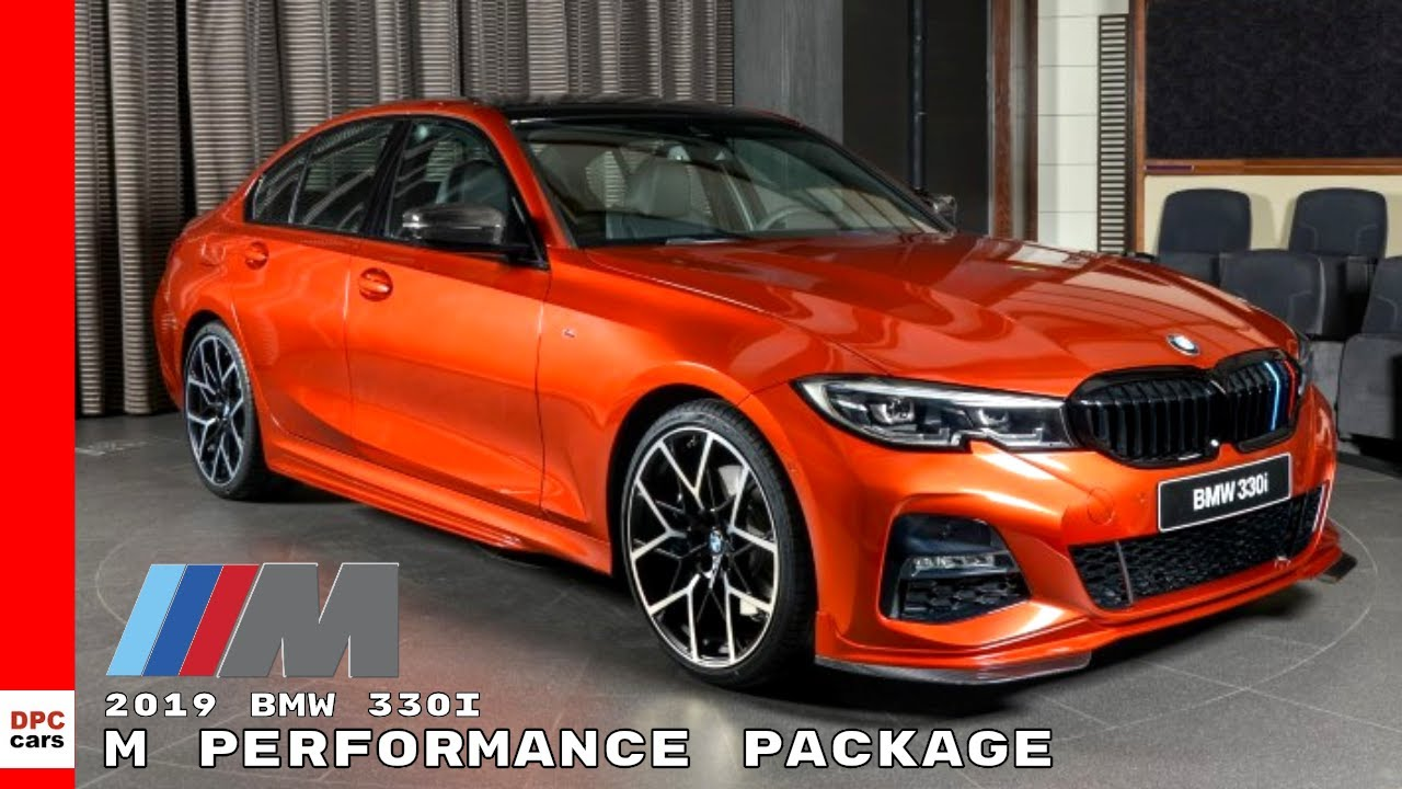 2019 Bmw 330i M Sport With M Performance Package