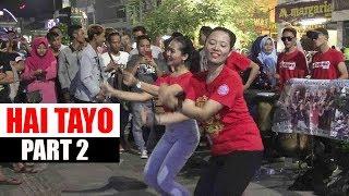 #PART2 HAI TAYOOO  -- PENGAMEN ANGKLUNG RAJAWALI MALIOBORO YOGYA