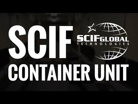 SCIF Container Unit - SCIF Global Technologies