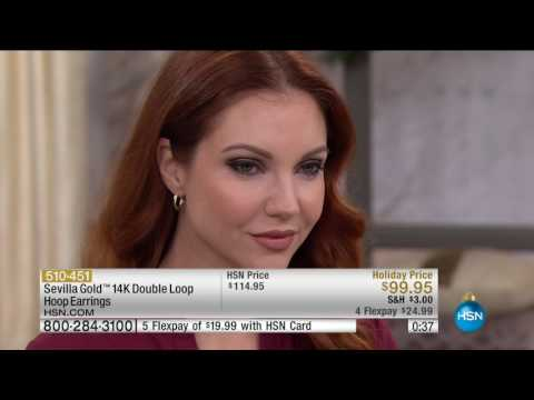 HSN | Sevilla Gold Jewelry 11.08.2016 - 03 PM