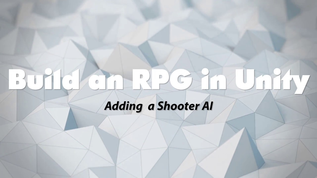 Building a RPG in Unity with Invector's TPC - Episode 13: Adding a Shooter  AI