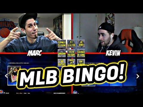 MLB BINGO VS GIRAFFENECKGAMING!! MLB THE SHOW 17 DIAMOND DYNASTY
