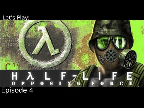 Into the Vents -Ep 04 Let's Play: Half-Life Opposing Force (Blind)