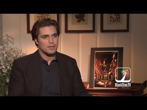 with 'Jesus' played by Diogo Morgado for The Bible miniseries