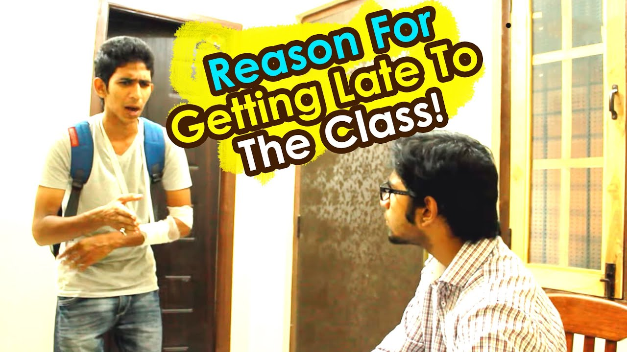 Reason For Getting Late To The Class! || Kantri Guyz