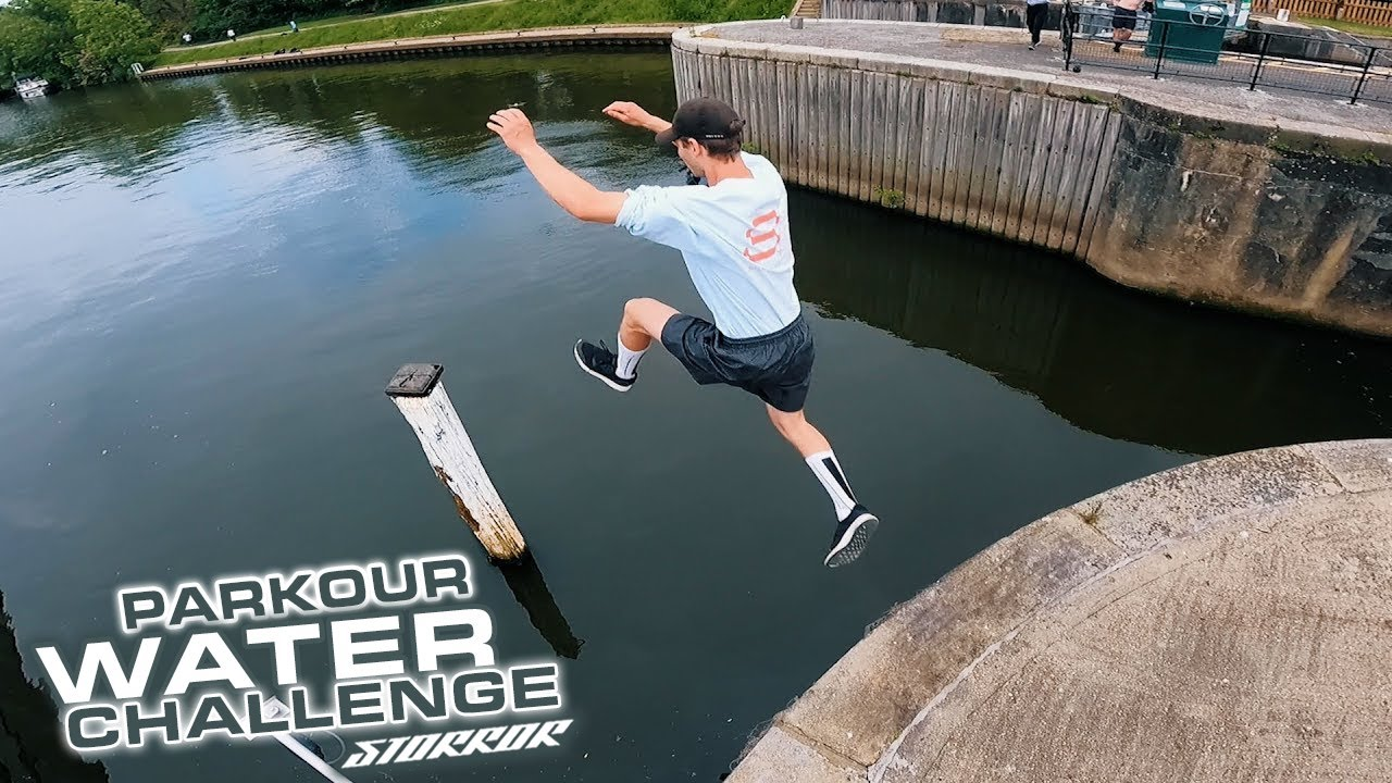 STORROR Parkour Water Challenge - Battling his biggest fear?! 🇬🇧