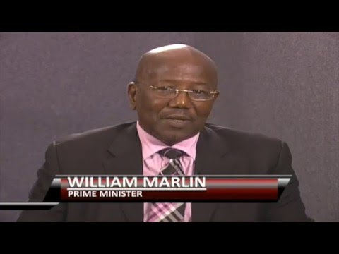 Oral Gibbes Live Interview With Prime Minister, William Marlin