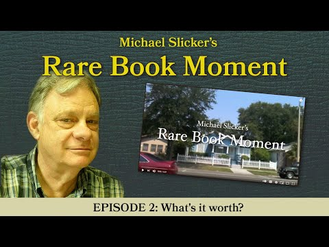 Rare Book Moment 2: What's it worth?