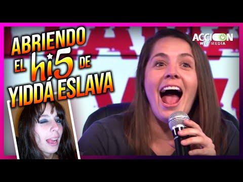 ABRIENDO EL Hi5 DE YIDDÁ ESLAVA