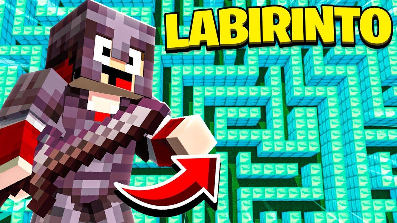 Minecraft ATRAVESSE 5 LABIRINTOS DIFERENTES