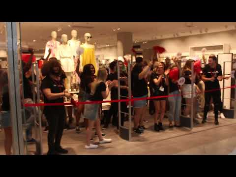 H & M Westfield Coomera Grand Opening