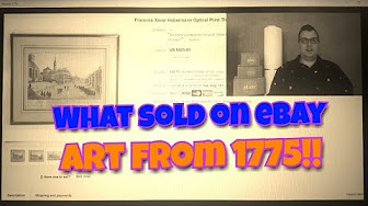 8c6a2237eae What Sold on Ebay - YouTube