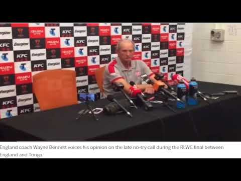 Michael Burgess: Tonga were robbed by decision not to go to video referee