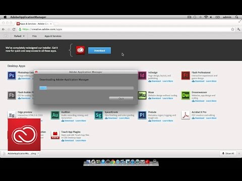 Installing desktop apps from Creative Cloud   Adobe Creative