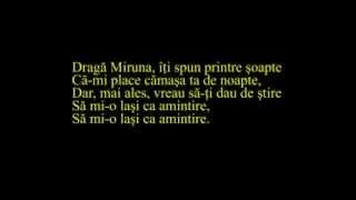 Pasarea Colibri - Miruna (lyrics, versuri, karaoke)