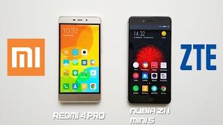 Xiaomi Redmi 4 Pro vs ZTE Nubia Z11 Mini S - ЧТО ВЫБРАТЬ?