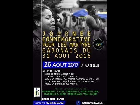 31.08.2017 #CGR Commémoration à Paris - Trocadéro