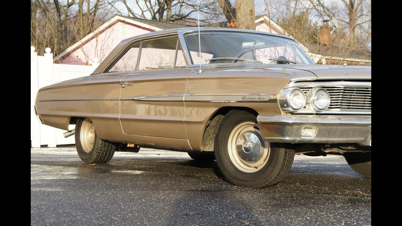 1963 ford galaxie 289 -  Sold 1964 Ford Galaxie 500 For Sale 262 V8 Chantilly Beige Narrowed Rear Very Original Interior