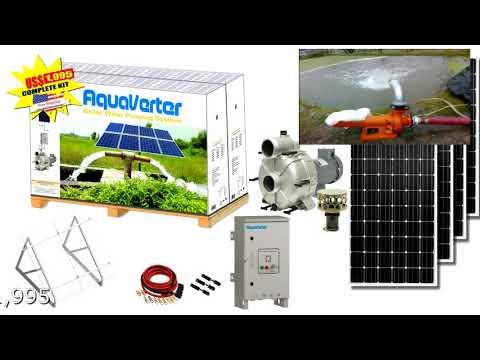 Kit de Bomba Solar Centrífuga de 2″ (pulgadas de salida) US$1,995