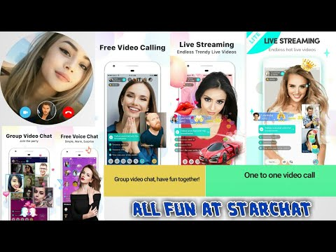 App Review Of StarChat - Globel Free Voice Chat Rooms