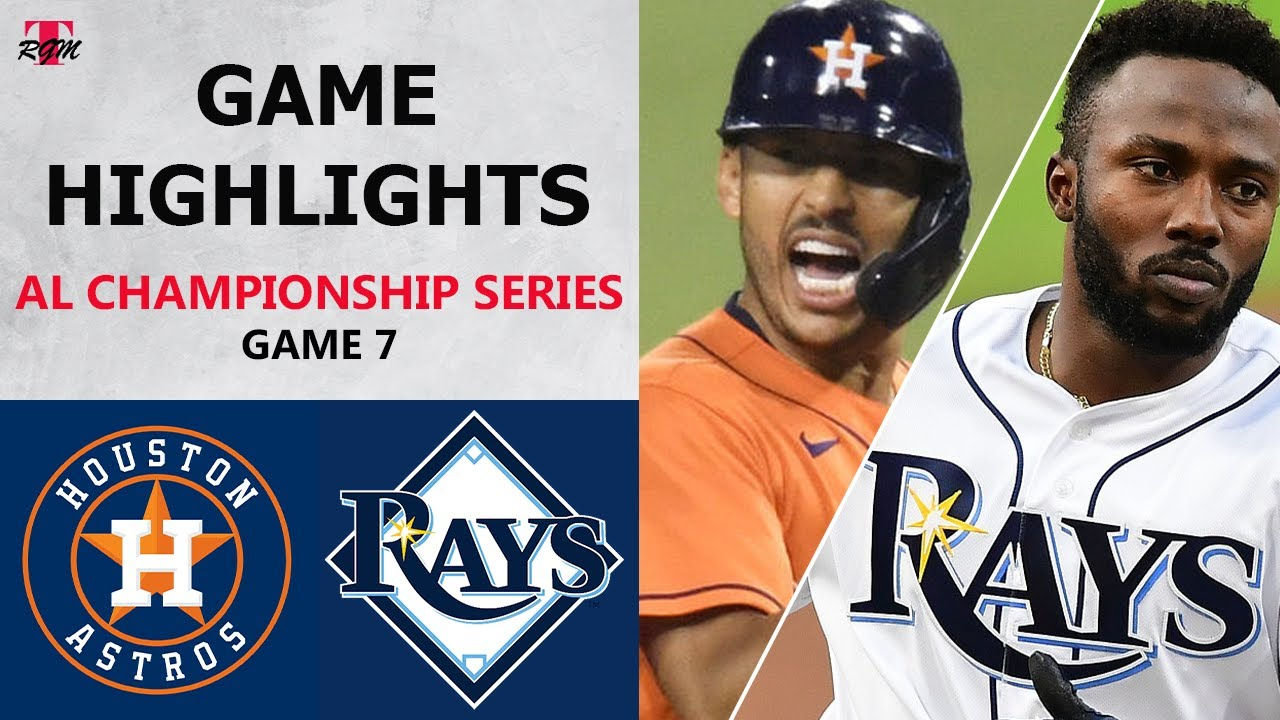 Houston Astros vs. Tampa Bay Rays Game 7 Highlights | ALCS (2020)