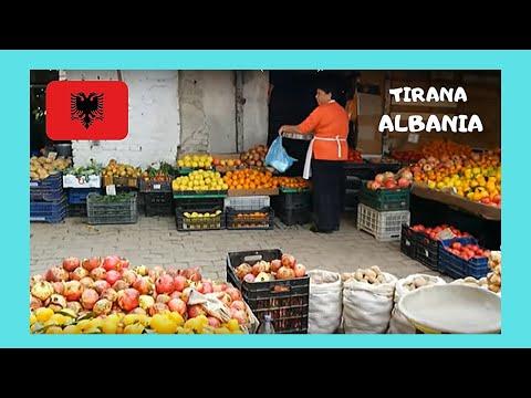 TIRANA, the iconic CENTRAL MARKET (PAZARI I RI), ALBANIA