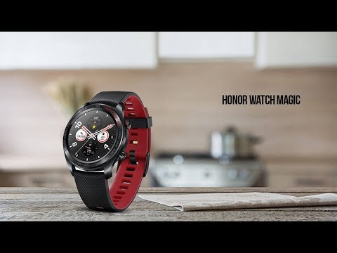 Huawei Honor Watch Magic | Swimproof Design | Smartwatch | 2019