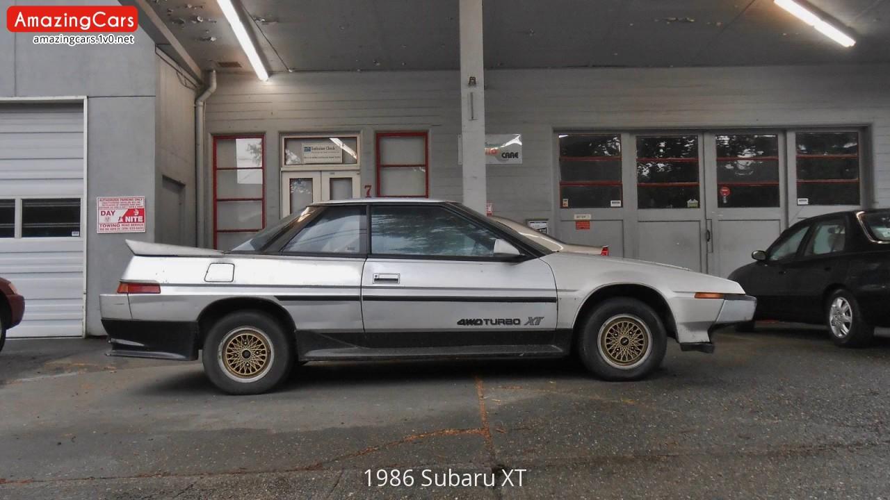 1986 Subaru Xt Interior 51internist Dr Hornde