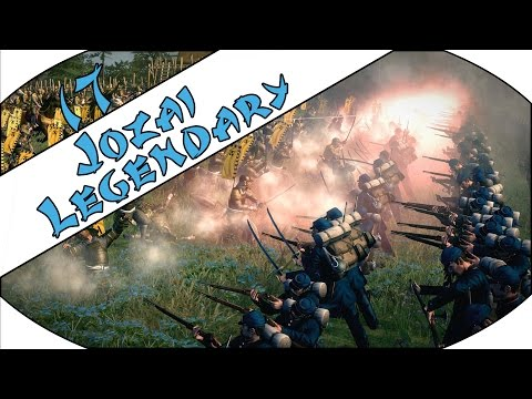 DAMN KAKEGAWA - Jozai (Legendary) - Total War: Shogun 2 - Fall of the Samurai - Ep.17!