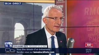 """Guillaume Pépy: """"Le trafic a recommencé à augmenter en 2018, et particulièrement sur les TER"""""""