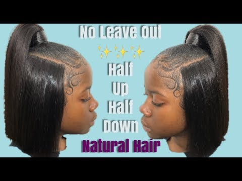 half-up-half-down✨illusion-part✨-(no-leave-out)-natural-hair- -pronto