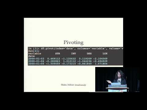 Mali Akmanalp - Other people's messy data (and how not to hate it!) - PyCon 2015