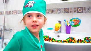 История Евы и мамы - собрались лечить зубы
