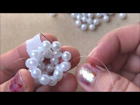 Pearl Beaded Ball - Easy for Beginners