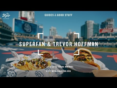 Padres Superfan and Trevor Hoffman Show How San Diego Does Ballpark Food
