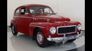 Volvo PV 544 1960 -VIDEO- www.ERclassics.com