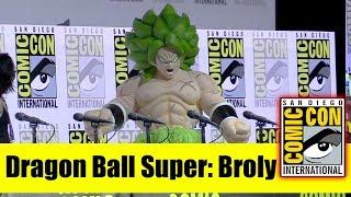 DRAGON BALL SUPER: BROLY | Comic Con 2018 Full Panel (Christopher Sabat, Sean Schemmel)