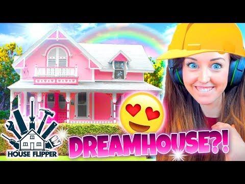 SHAB CHIC DREAMHOUSE!😍 ⚒ House Flipper! #4 🏘