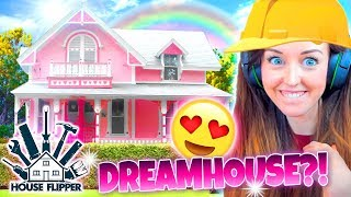 SHABBY CHIC DREAMHOUSE!😍 (⚒ House Flipper! #4 🏘)