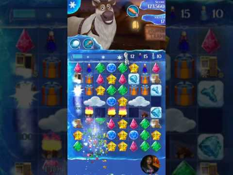 Frozen free fall endless maps wrapped figurines  live play level 612