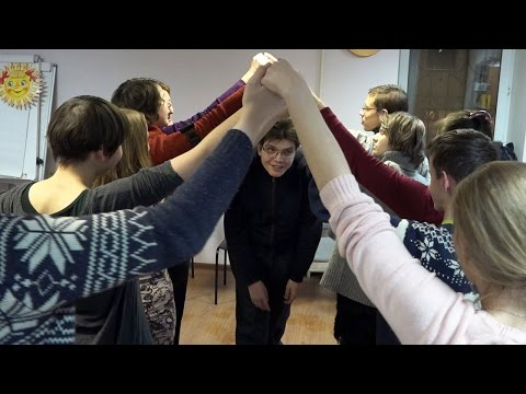 Тренинг для волонтёров-Игры с детьми от 5 до 15. Андрей Мещеринов, Лидия Алексеевская