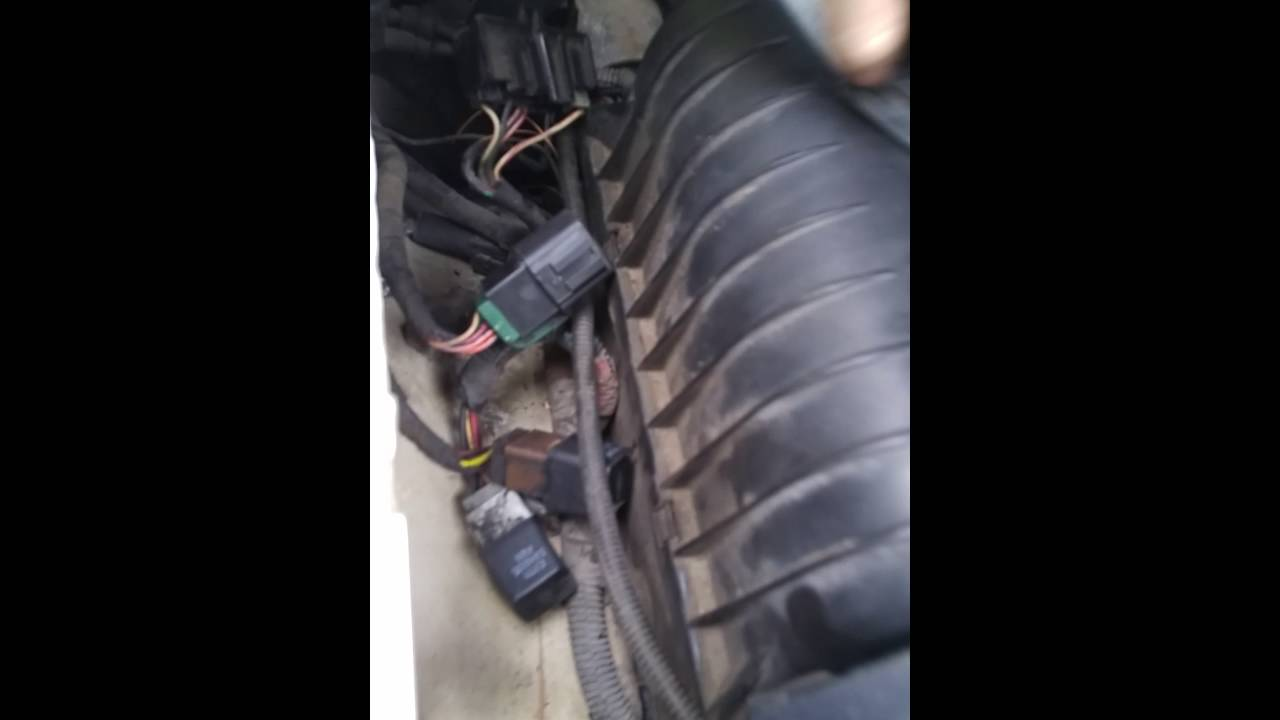 ford ranger fuel relay youtube