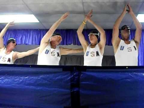 Senior Olympic Synchronized Swimming